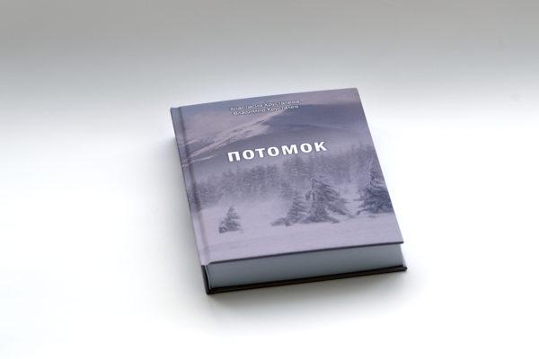 Пример- твердый переплет книги